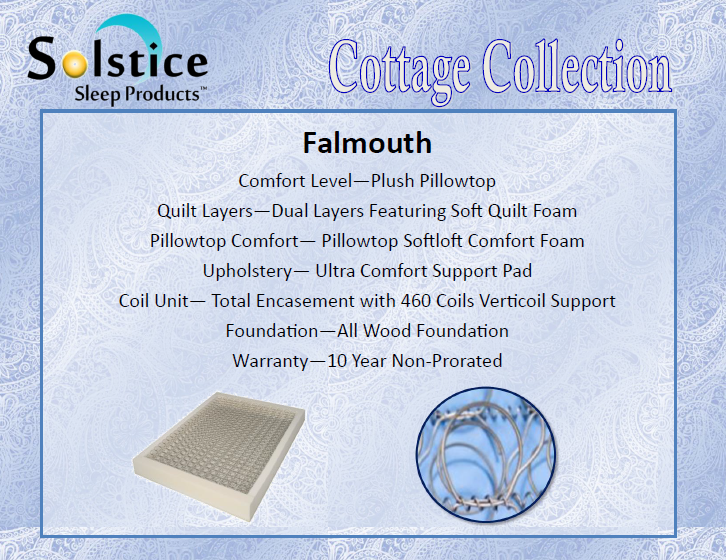 mattress features falmouth