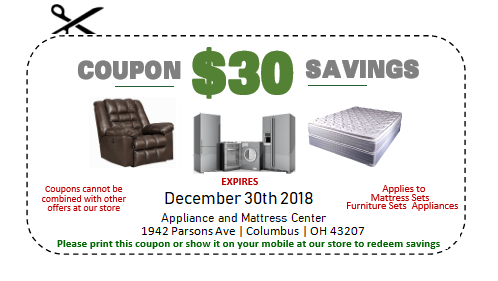 December 2015 Coupon for Mattress Sets